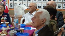 90 лет ветерану Второй мировой войны Григорию Шелюбскому (Кармиэль)